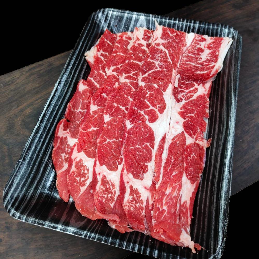美國 安格斯高級牛肩胛三角肥牛[火鍋切片] ( 約200g )