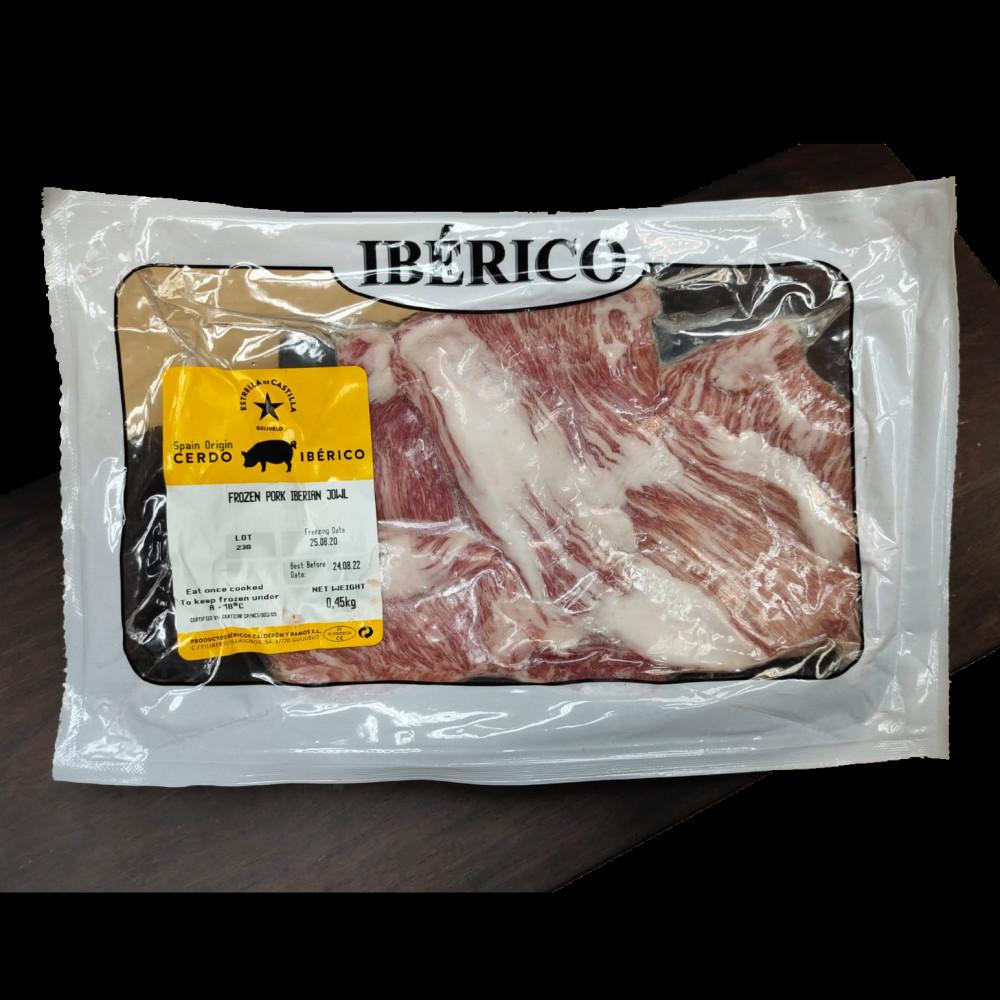 西班牙伊比利亞黑毛豬頸肉 ( 一包約450g )