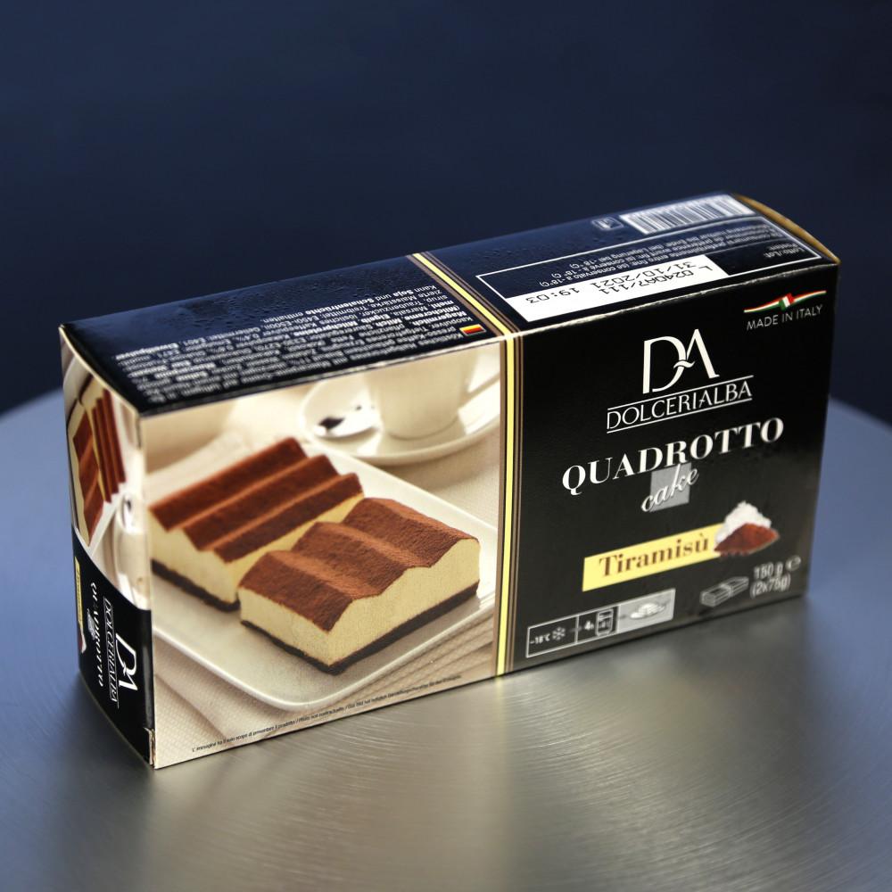 意大利 Dolceria 精品蛋糕 意大利芝士餅 Tiramisu ( 一盒約150g, 共2件 )