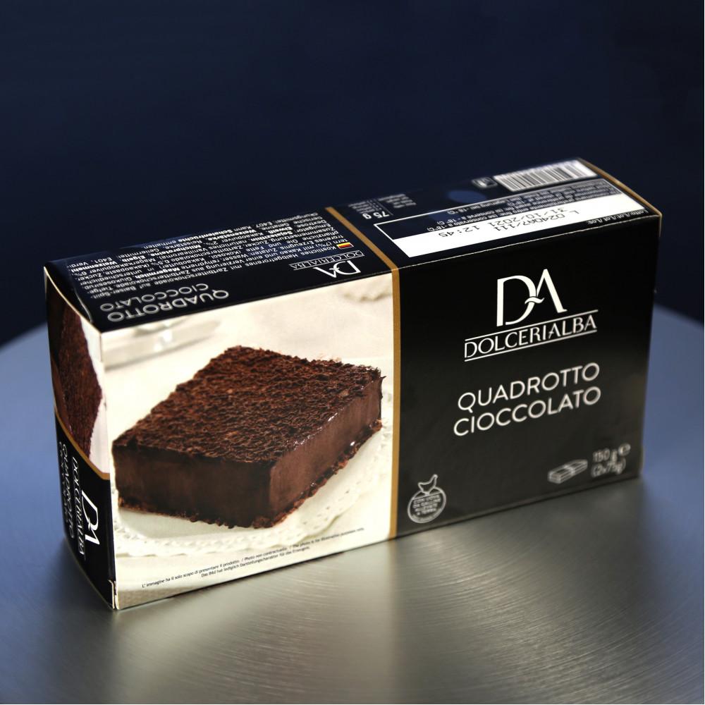 意大利 Dolceria 精品蛋糕 特濃朱古力蛋糕 Cioccolato ( 一盒約150g, 共2件 )