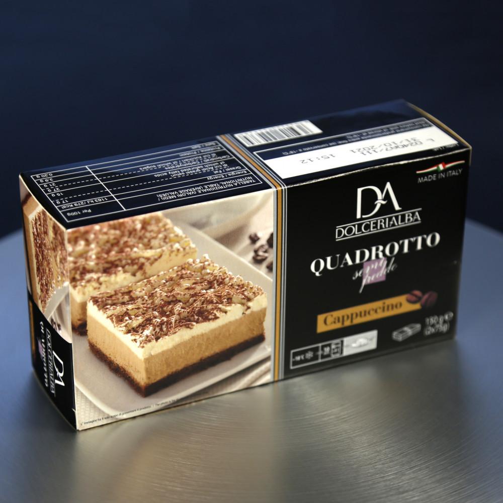 意大利 Dolceria 精品蛋糕 泡沬咖啡蛋糕 Cappuccion ( 一盒約150g, 共2件 )