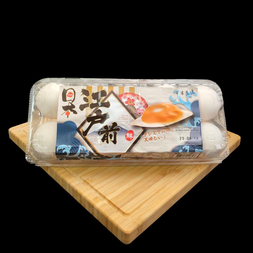 日本 白雞蛋 ( 一盒有10隻 )