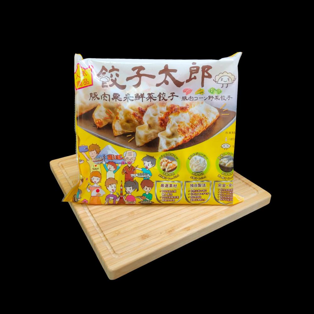 餃子太郎 日式豚肉粟米鮮菜餃子  ( 一盒有10隻 )