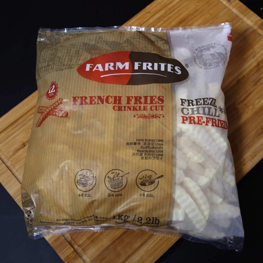 荷蘭 Farm Frites 曲薯條 ( 一包約1000g )
