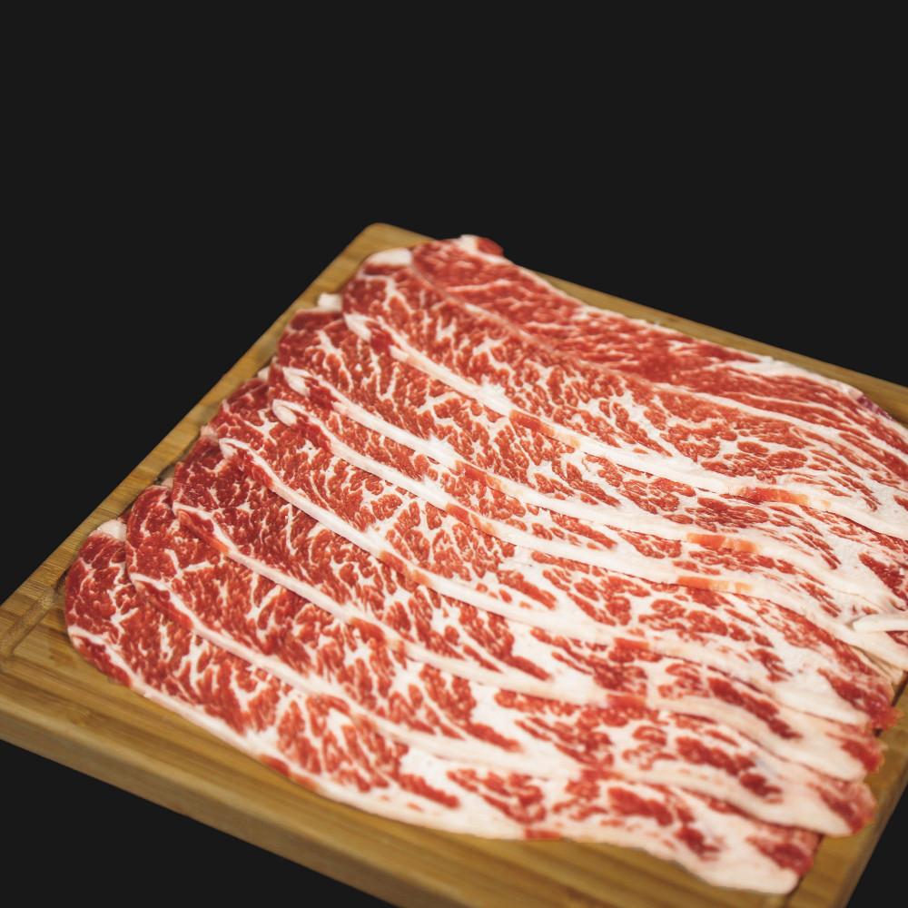 美國 安格斯高級牛小排 [火鍋切片] ( 約250g )