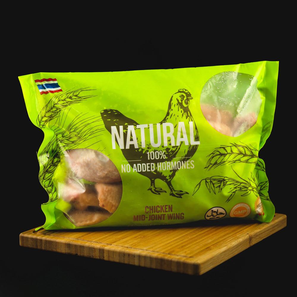 泰國 Natural 無激素 雞中翼 ( 一包約1000g )