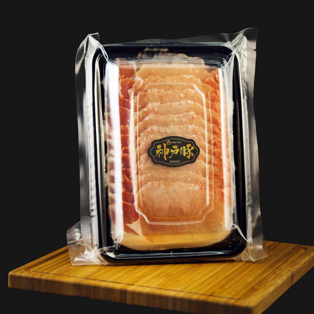 日本 神戶豚肉眼切片 [薄切] ( 一包約200g )