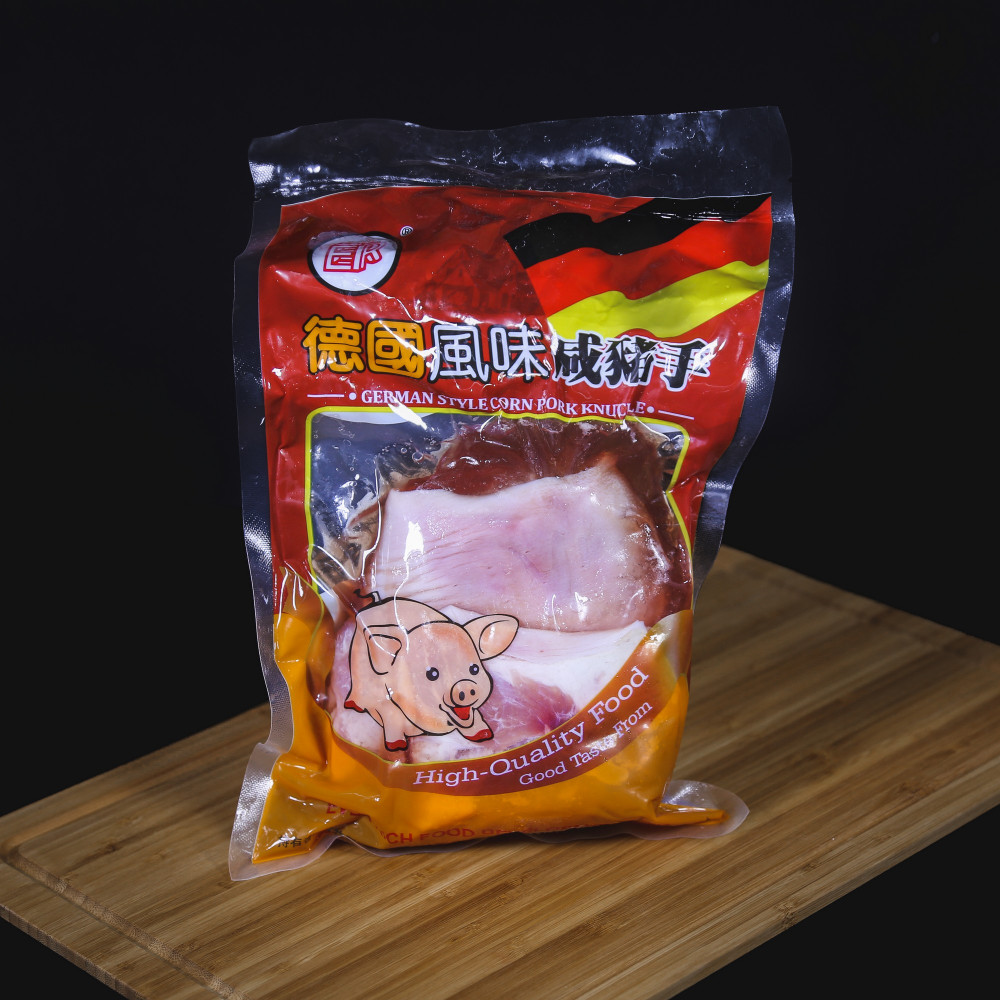 ER 精選德國風味咸豬手[生] ( 一包一隻,約900g +)