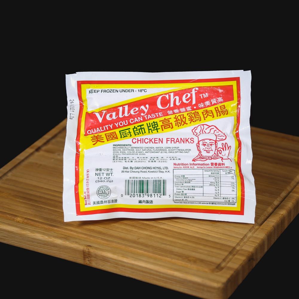 美國 廚師牌雞肉腸 ( 一包約 340g )