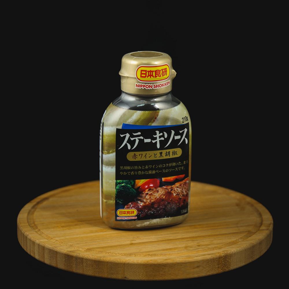 Nippon Shokken 黑胡椒牛排醬汁 ( 每支約 210g )